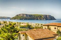 Dino Island on the Coast of the Cedars, Tyrrhenian Sea, Italy Royalty Free Stock Photos
