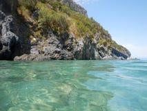Dino Island on the Coast of the Cedars, Tyrrhenian Sea, Italy Stock Photos