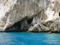 Dino Island on the Coast of the Cedars, Tyrrhenian Sea, Italy Stock Photo