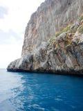 Dino Island on the Coast of the Cedars, Tyrrhenian Sea, Italy Royalty Free Stock Photography