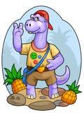 Dino Kids Royaltyfria Foton