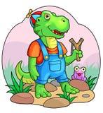Dino Kids Royaltyfri Foto