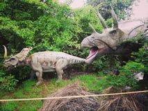 Dino-Land stockbilder