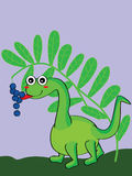 Dino like blueberry Stock Images