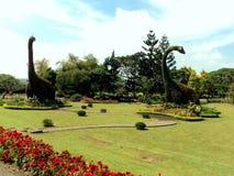 Dino ogród zdjęcia royalty free