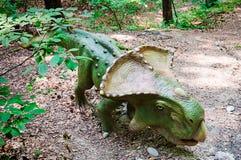Dino Parc en Rasnov Imagen de archivo libre de regalías