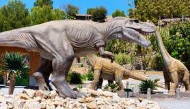 Dino Park of Algar. Spain Stock Photos