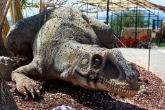 Dino Park av Algar spain Arkivfoton