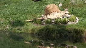 Dino Park Dinosaur fotografia stock