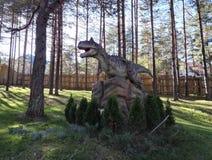 Dino Park Dinosaur Dino Park Adventure in Zlatibor, Serbia immagini stock libere da diritti