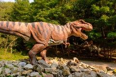 Dino Park, Eslováquia fotos de stock royalty free