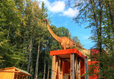 Dino park, Rasnov - Romania Stock Photos