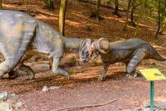 Dino park, Sistani Fotografia Stock