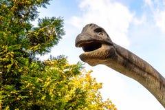Dino Park Slovakien Royaltyfri Bild