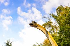 Dino Park Slovakien Royaltyfri Foto
