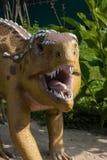 Dino parka dinosaur zdjęcia royalty free