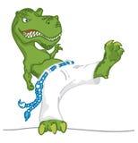 Dino play brazilian game. Stock Photography