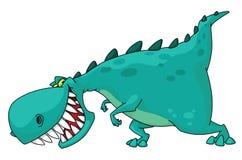Dino rex royalty free illustration