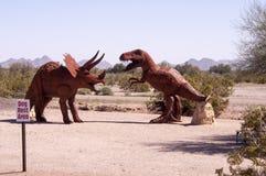 Dino Spoczynkowy teren Zdjęcie Royalty Free
