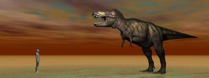 Dino Tyrannosaurus Obrazy Royalty Free