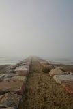 Dino Verde beach sunrise in mist Stock Images