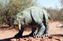 Dinodontosaurus Dinosaur Replica - Argentina Royalty Free Stock Images