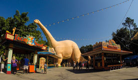 Dinoland at Animal Kingdom, Orlando Florida. Stock Photos