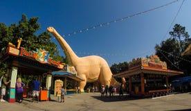Dinoland au règne animal, Orlando Florida photos stock