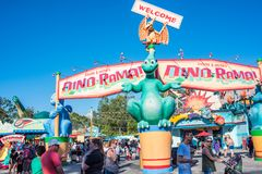 DinoLand U S A am Tierreich bei Walt Disney World stockfoto