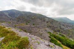 Dinorwig Slate Quarry Llanberis Stock Images