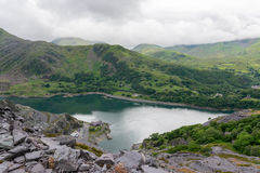 Dinorwig Slate Quarry royalty free stock images