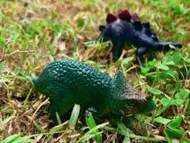 Dinos - brinquedos Imagens de Stock