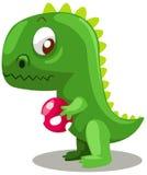 dinosaurägg stock illustrationer