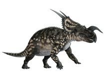 Dinosaur 1. 3D render of a dinosaur isolated on a white background Royalty Free Stock Photography