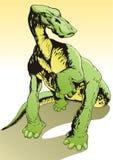 dinosaur Fotografering för Bildbyråer
