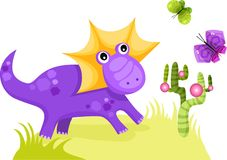 Dinosaur Illustration Stock