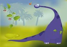 Dinosaur with Royalty Free Stock Photos