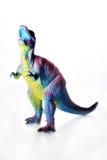 Dinosaur. Toy isolated on white stock image
