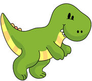 Dinosaur 2. A t rex for your jurassic fun royalty free illustration