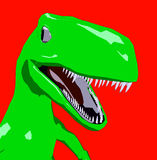 Dinosaur 2. This is a dinosaur Royalty Free Stock Image