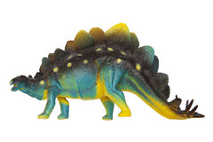 Dinosaur. Dinsaur toy isolated on the white background Royalty Free Stock Photo