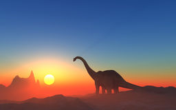 The dinosaur Royalty Free Stock Photos