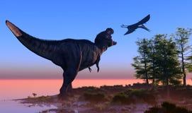The dinosaur stock illustration