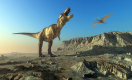 The dinosaur Stock Images