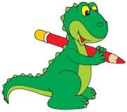 Dinosaur. Vector clip-art / children's illustration for yours design royalty free illustration