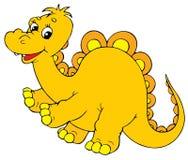 Dinosaur. Vector clip-art / children's book illustration for yours design Royalty Free Stock Photo
