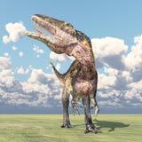 Dinosaur Acrocanthosaurus Royalty Free Stock Photos