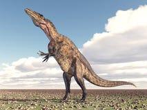 Dinosaur Acrocanthosaurus Stock Images