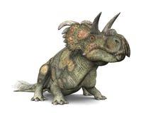 Dinosaur Albertaceratops Illustration Stock