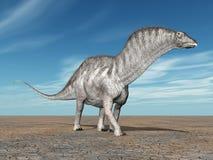 Dinosaur Amargasaurus Royalty Free Stock Photos